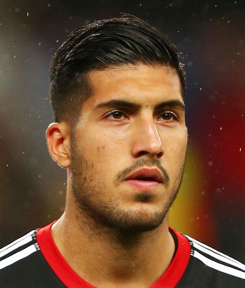 Emre Can Hairstyle Cool Mens Hair