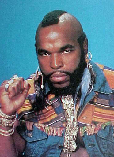 Mr T Frohawk Hairstyle Cool Mens Hair