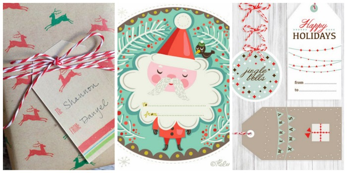 The Coolest Free Printable Holiday Gift Tags And Gift Wrap