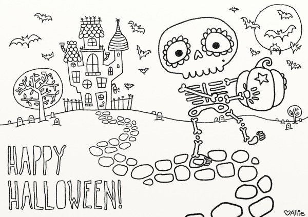 free halloween printables for kids # 9
