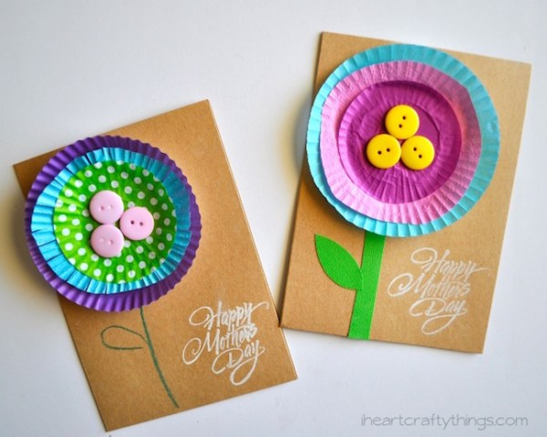9 easy handmade Mother's Day cards your kids can make
