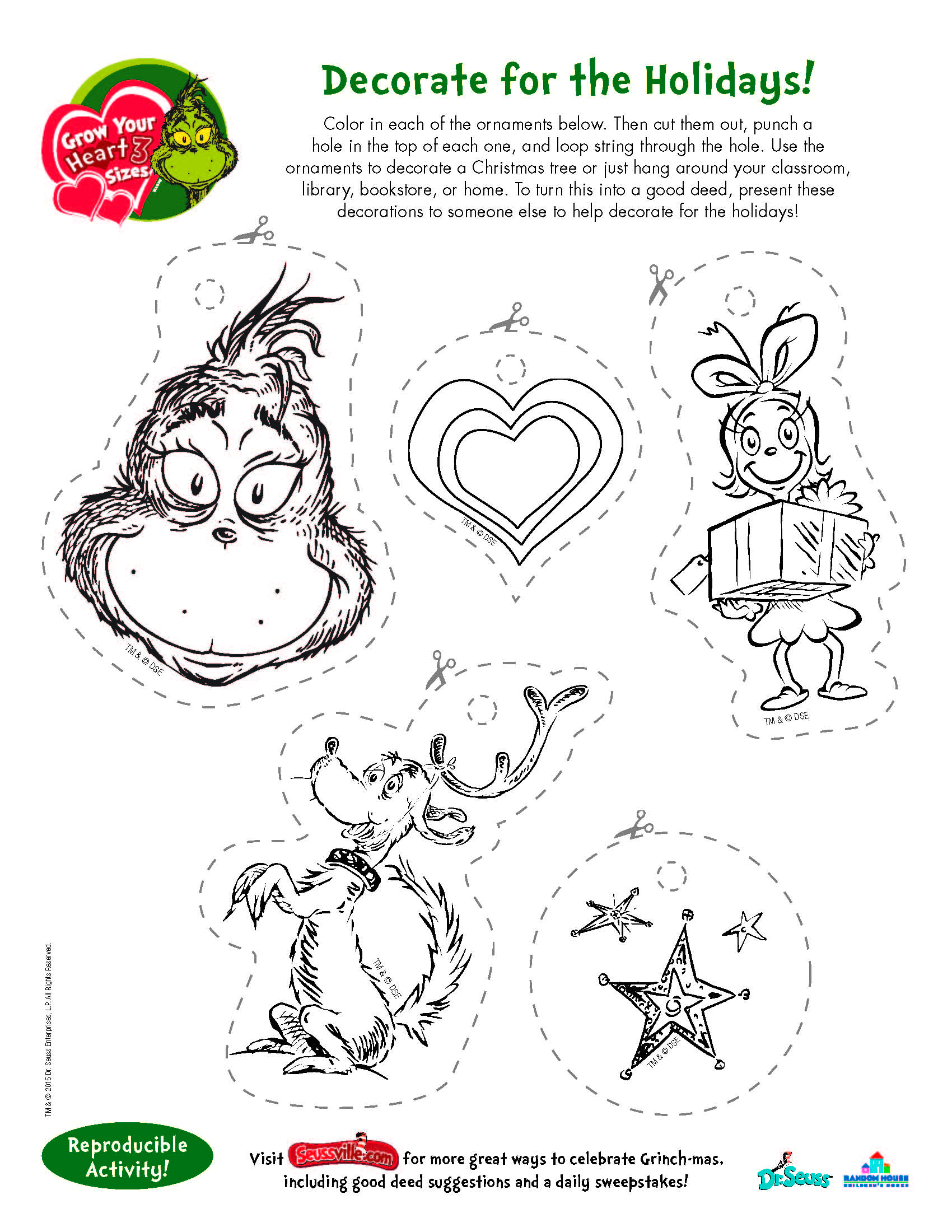 Image Result For Grinch Printables Free Grinch Ideas For T