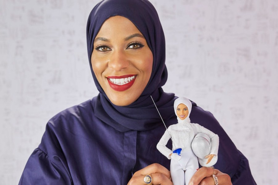 The Hijab Wearing Olympian Barbie Hamilton Heads To A New