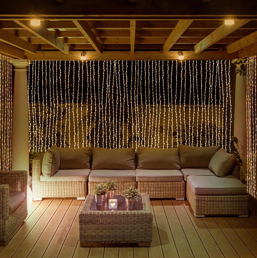cool backyard lighting ideas because