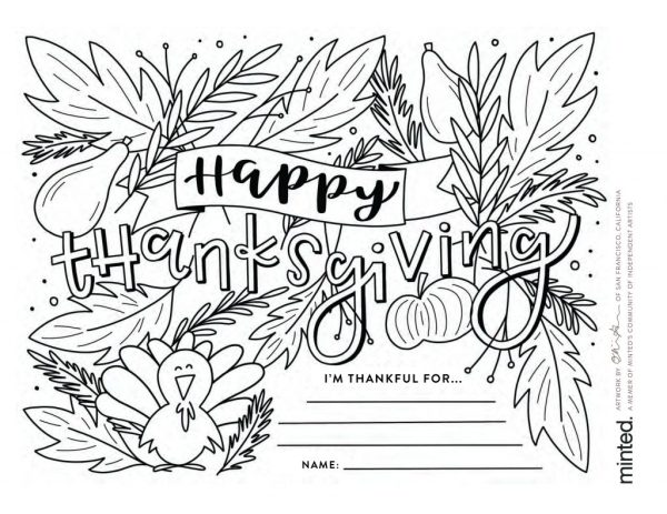 free thanksgiving coloring pages printable # 11