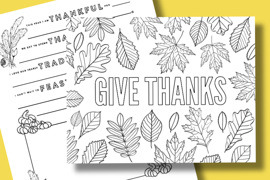 Free Thanksgiving Coloring Pages To Help Children Express Gratitude Cool Mom Picks