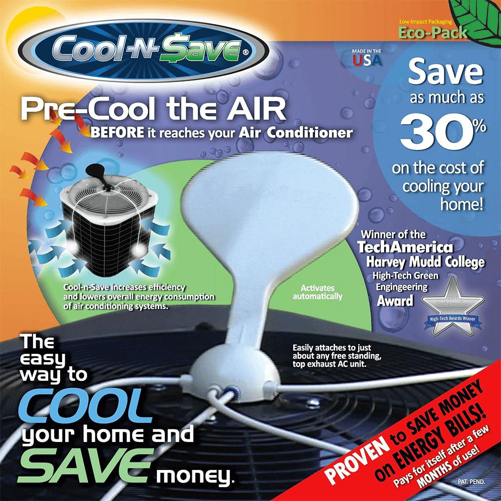 The Original, Patented Cool-n-Save Basic Kit - Cool-n-Save