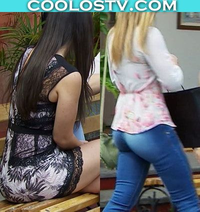 Fabiola Guajardo y Gema Garoa Nalgonas en Minifalda y Jeans