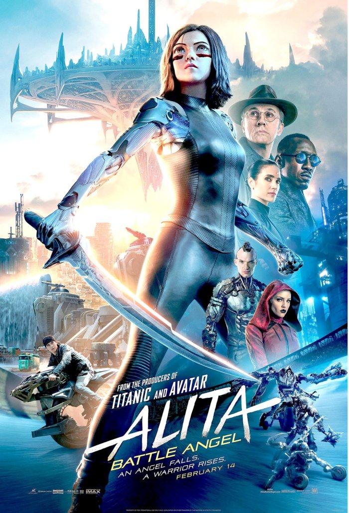 movie alita battle angel movie poster hd