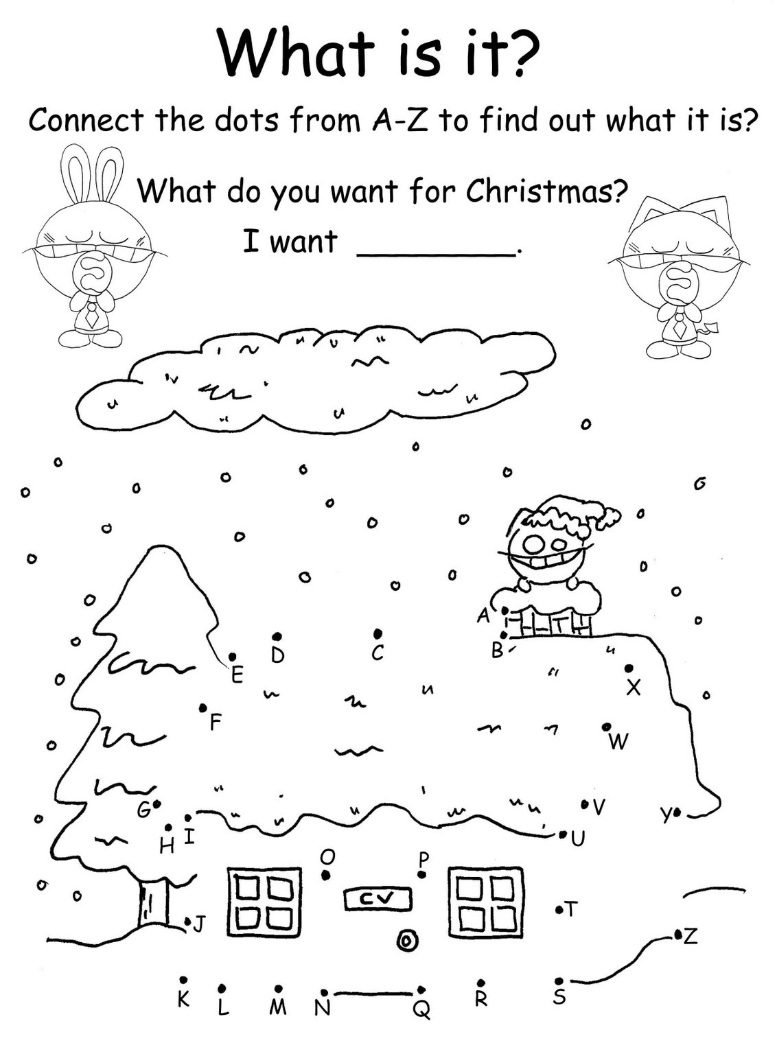 Christmas Themed Mazes Coloring Pages Amp Word Search Fun