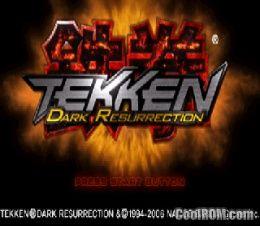 Tekken Dark Resurrection Psp Iso Download Coolrom Imitebchap