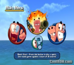 Worms 3D ROM (ISO) Download for Nintendo Gamecube ...