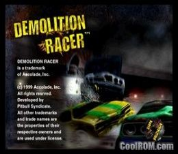 Demolition Racer ROM (ISO) Download for Sony Playstation / PSX - CoolROM.co.uk