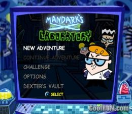 Dexters Laboratory Mandarks Lab ROM ISO Download For
