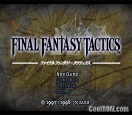 Final Fantasy Tactics ROM (ISO) Download for Sony Playstation / PSX - CoolROM.com