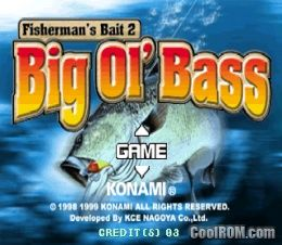 Fisherman's Bait 2 - Big Ol' Bass ROM (ISO) Download for Sony Playstation / PSX - CoolROM.com