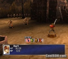 Legend Of Dragoon The Disc 1 ROM ISO Download For Sony Playstation PSX