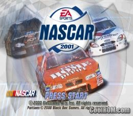 NASCAR 2001 ROM (ISO) Download for Sony Playstation / PSX - CoolROM.com