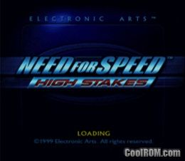 Need for Speed - High Stakes ROM (ISO) Download for Sony Playstation / PSX - CoolROM.com