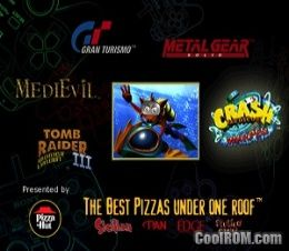 Pizza Hut Demo CD ROM (ISO) Download for Sony Playstation / PSX - CoolROM.com