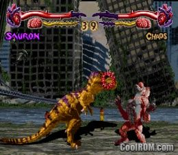 Primal Rage ROM (ISO) Download for Sony Playstation / PSX - CoolROM.com