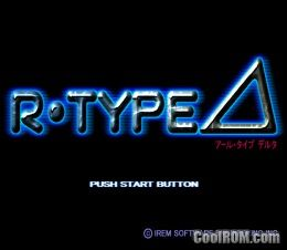 R-Type Delta (Japan) ROM (ISO) Download for Sony Playstation / PSX - CoolROM.com