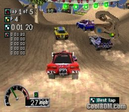 Rally Cross ROM (ISO) Download for Sony Playstation / PSX - CoolROM.com