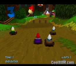 Smurf Racer! ROM (ISO) Download for Sony Playstation / PSX - CoolROM.com