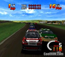 TOCA 2 Touring Car Challenge ROM (ISO) Download for Sony Playstation / PSX - CoolROM.com