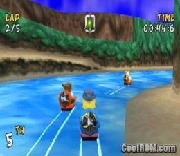 XS Airboat Racing ROM (ISO) Download for Sony Playstation / PSX - CoolROM.com