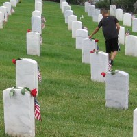 Photos of Memorial Day ceremony at Fort Rosecrans.