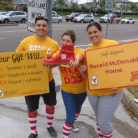 Fill a red shoe online for Ronald McDonald House!