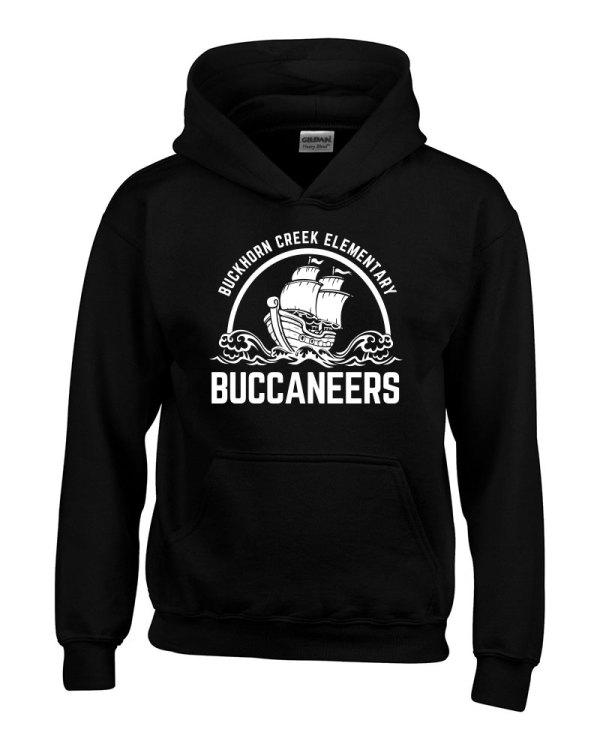 Buckhorn Creek Hoodie - Black