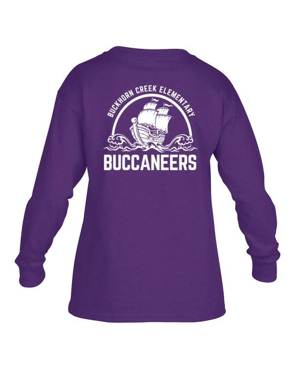 Buckhorn Creek Long Sleeve Shirts - Purple
