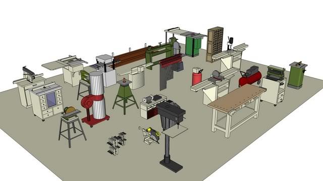 Woodworking Shop Design