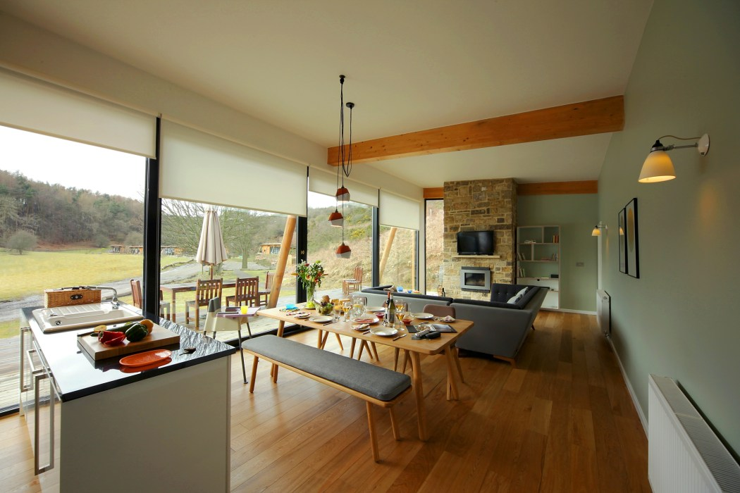 Rent Natural Retreats Eco-lodges In The Yorkshire Dales