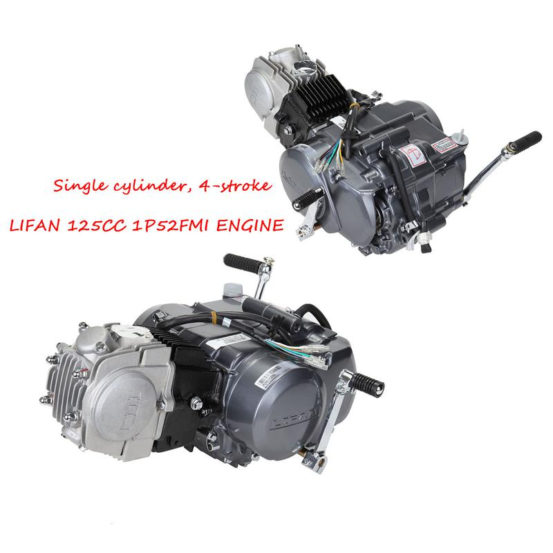 125CC 4 Stroke Manual Clutch Engine Motor CDI Ignition Model For Honda Z50  Z50R