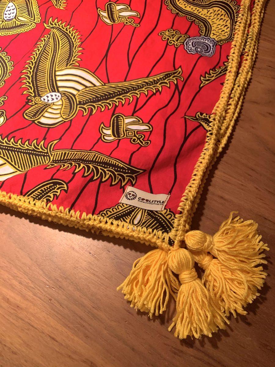 foulard red label
