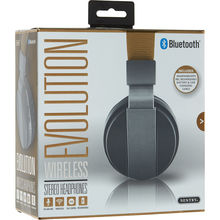 Black Evolution Wireless Stereo Headphones