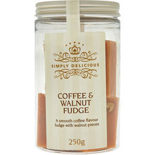 Coffee & Walnut Fudge Pieces 250g
