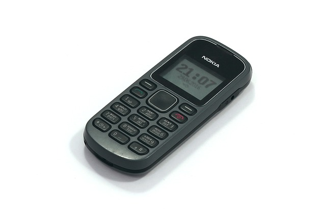 an old Nokia brick phone