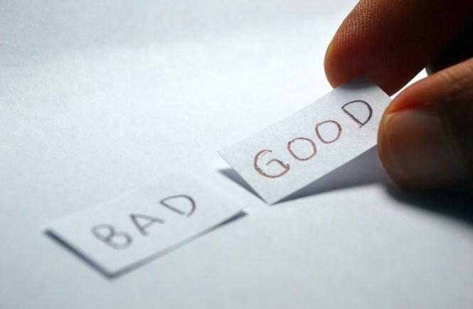 Choosing positivity over negativity