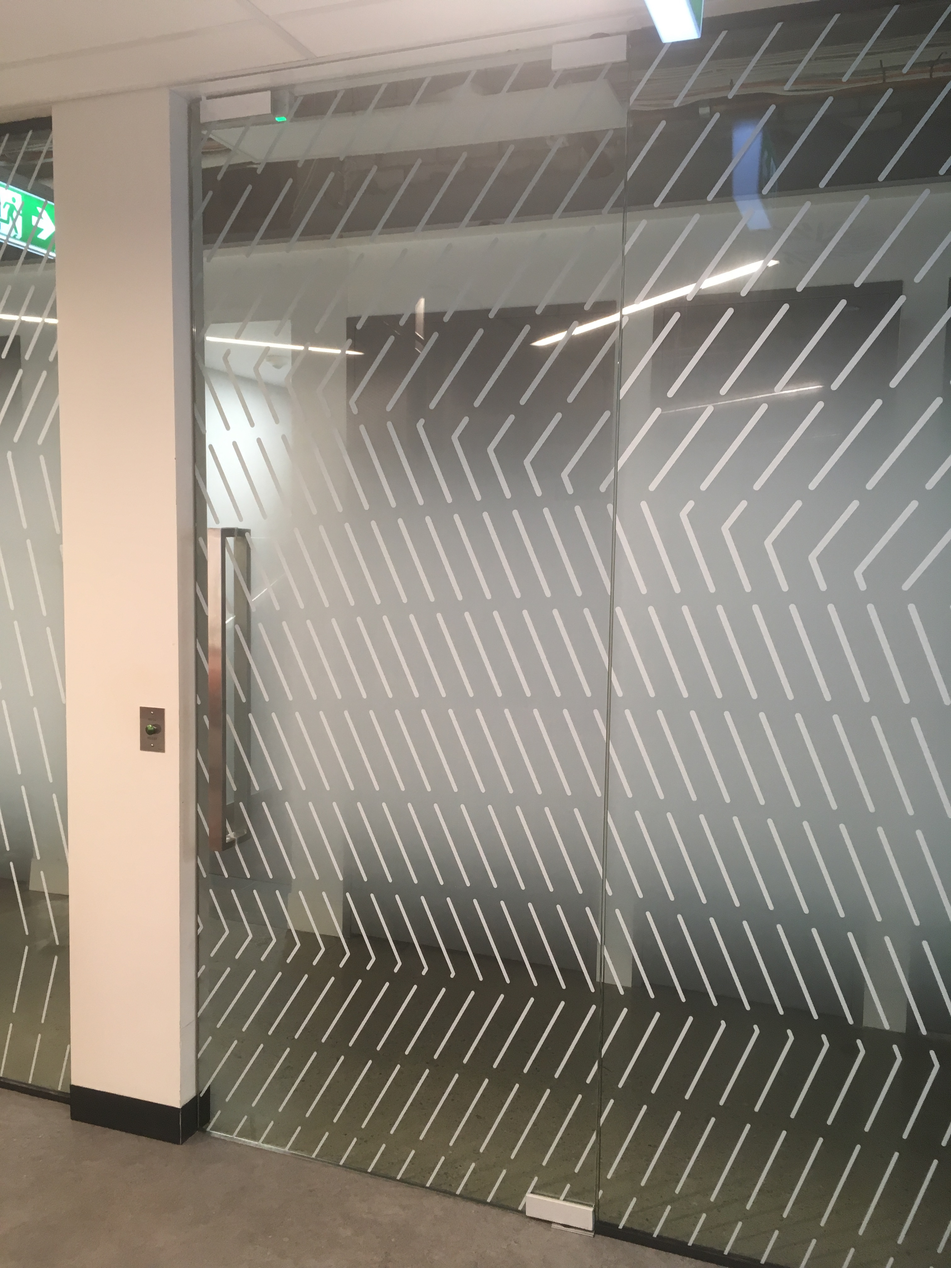Custom Glass Graphics | Brisbane City