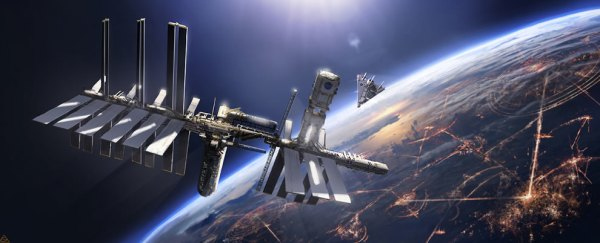 Future Space Station 3D SpaceCoolvibe Digital Art