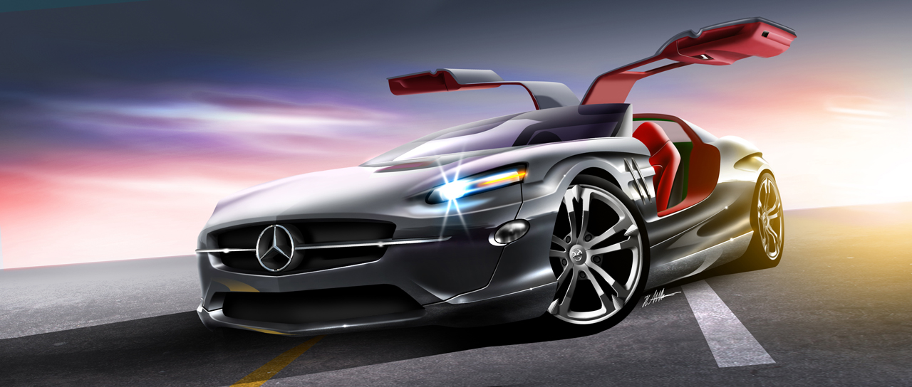The New 300sl Gullwing By Husseindesign Coolvibe