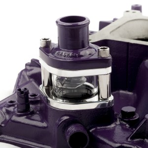 Cool-View mounted on a Mopar intake manifold.