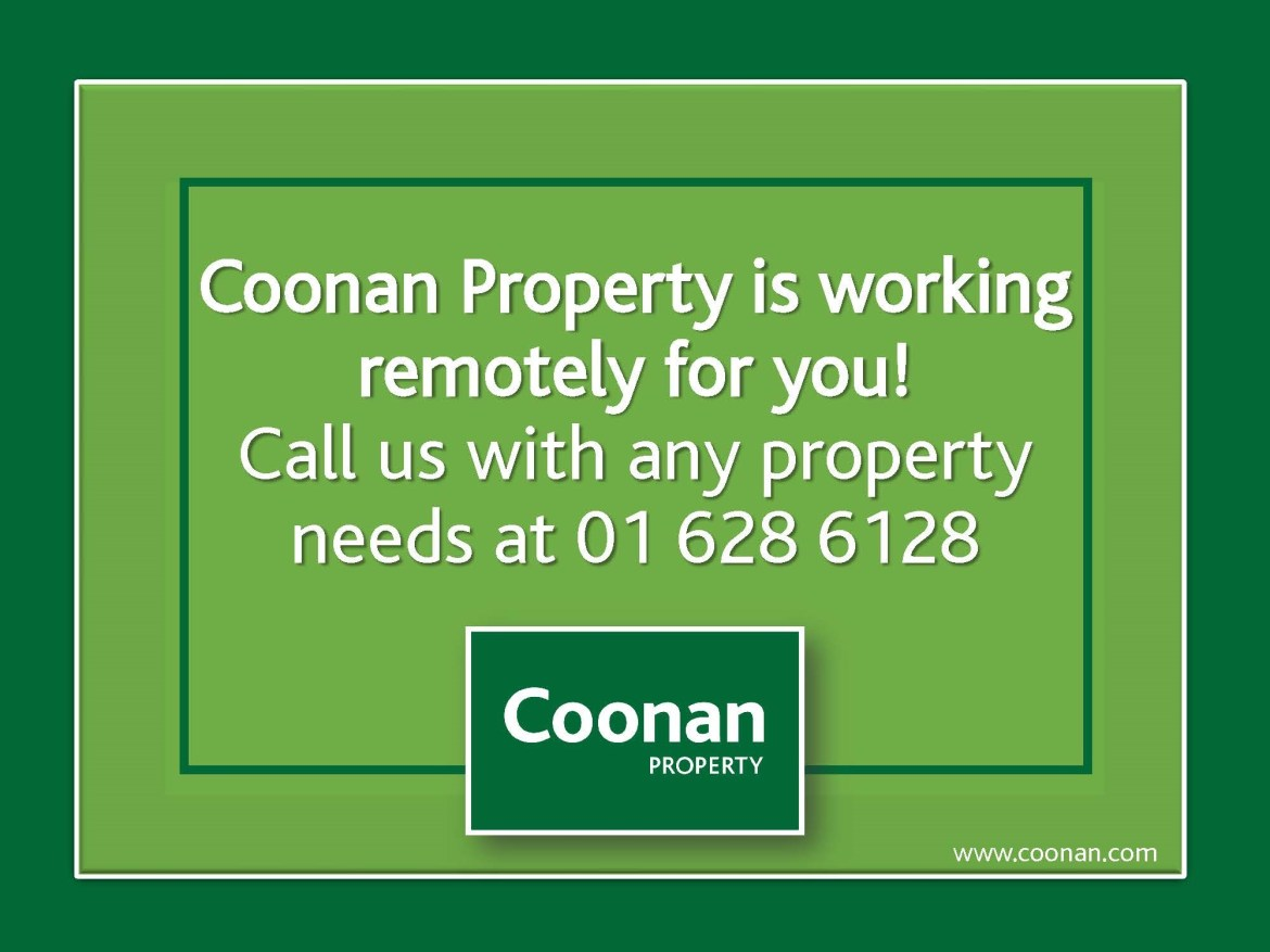 Coonan Property is working remotely for you!