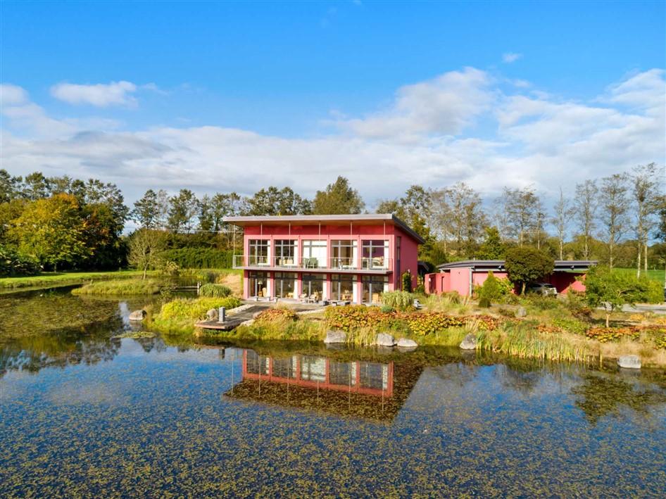 """Red House"" Portgloriam, Kilcock, Co. Kildare – Bespoke residence in lakeside setting on c. 19.6 Acres"