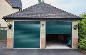 Aluminum new garage doors