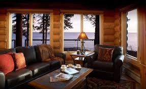 One of the Lake Superior cabins that is for rent